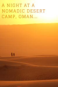 Nomadic desert camp - pinterest PIN - Oman