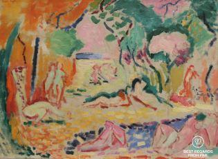 Le bonheur de vivre by Henri Matisse, SFMOMA, San Francisco, California, USA