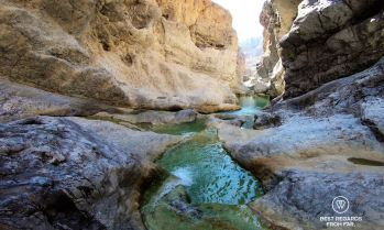Canyoning Al Hayer Falls, Oman