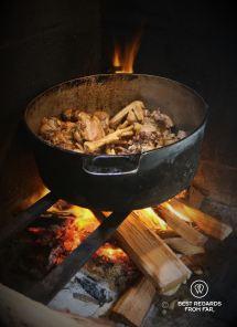 Cooking cari poulet palmiste @ Far Far Kréole, Réunion