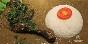 Duck with Cilaos lentils @ Chez Noé, Reunion Island