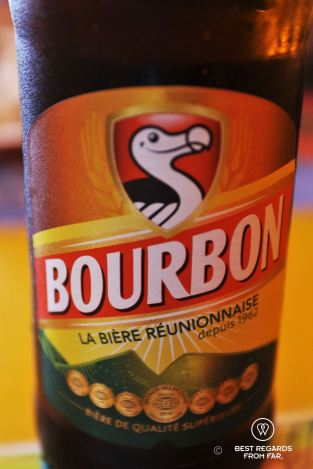A cold Dodo beer, St. Pierre, Reunion Island, France
