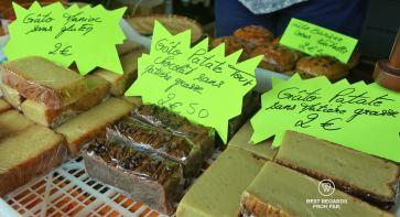 The famous potato cake @ Tatie Rosine, Reunion Island
