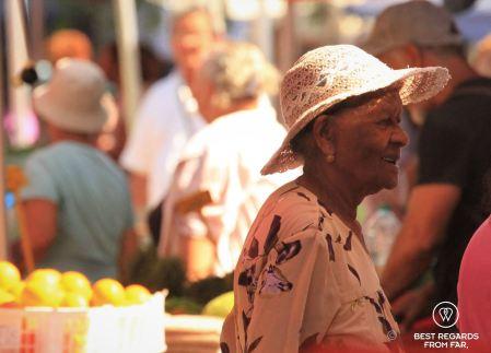 Saint Pierre market, Reunion Island, France