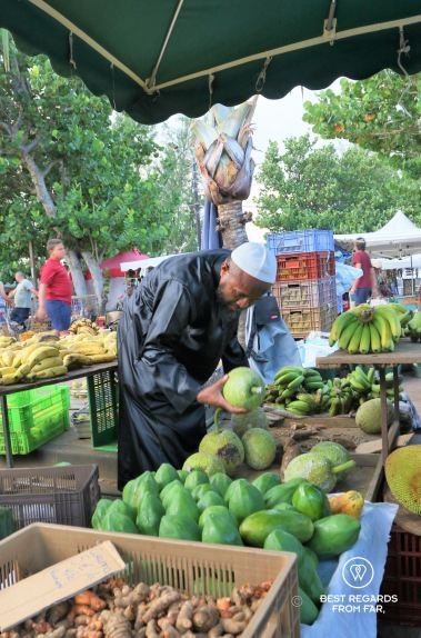 The St. Pierre market, Reunion Island, France