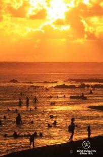 The beach of Saint Pierre, Reunion Island, France