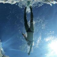 Enjoying the swimming pool of Villa Delisle, Reunion Island, France