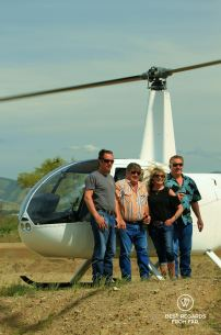 Olivier, Ray and Dena and Bobby from Behind the scenes wine tours, Salinas, California
