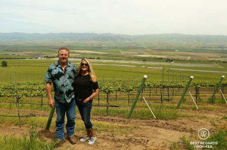 Bobby and Dena from Behind the Scenes Wine Tours, Salinas, California, USA