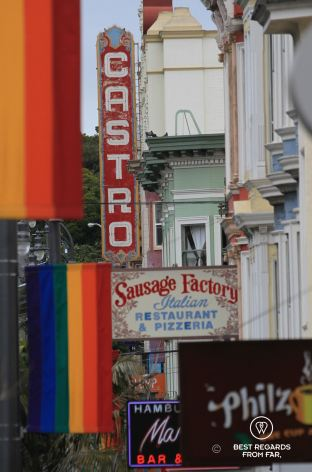 The gay area of Castro, San Francisco, California, USA