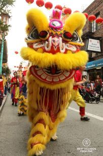 Parade in Chinatown, San Francisco, California, USA