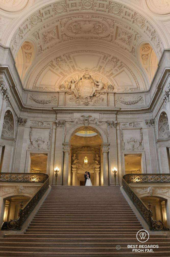 The San Francisco City Hall, California, USA