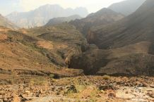 Snake Canyon from the top, Oman