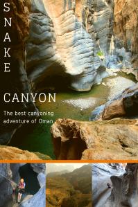 Snake canyon - pinterest PIN - Oman