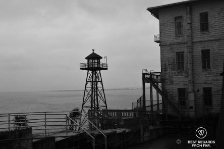 The grim side of Alcatraz, San Francisco, USA