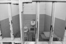 A cell in Alcatraz, San Francisco, USA