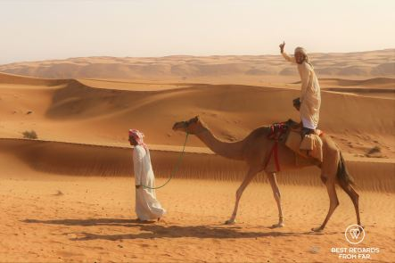 Local in the Arabian desert