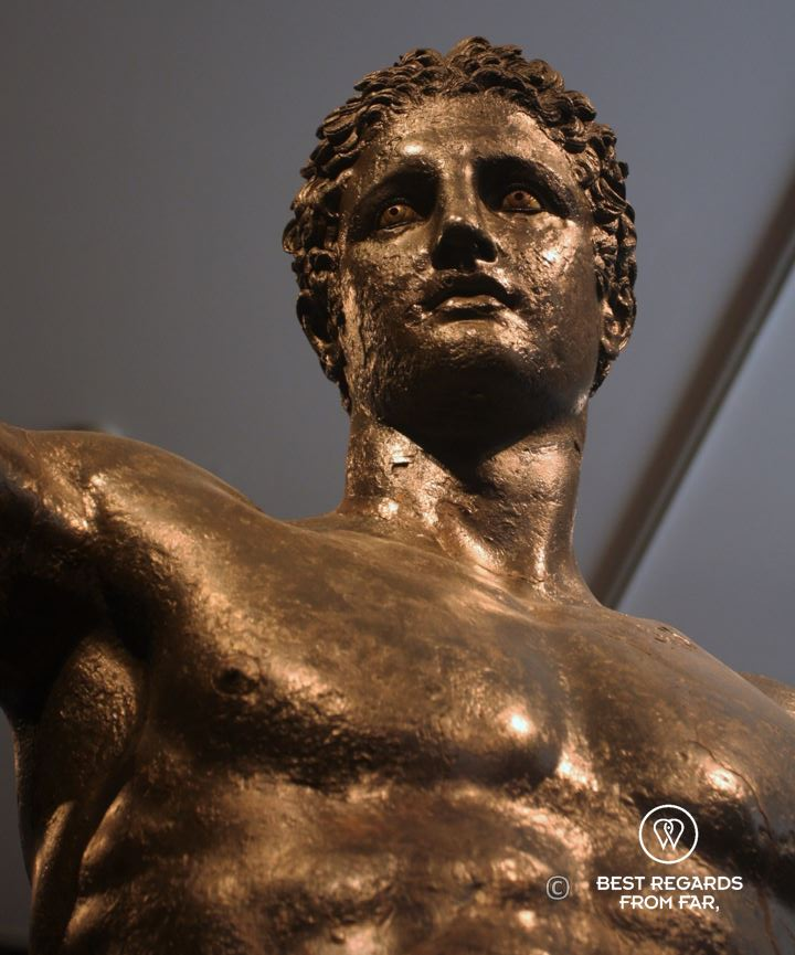 The Antikythera Youth statue, Archaeological Museum, Athens, Greece