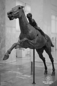 The Artemision jockey, Archaeological Museum, Athens, Greece
