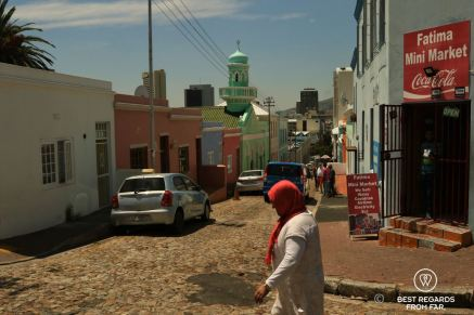 One of the corner stores in Bo-Kaap, Cape Town, South Africa