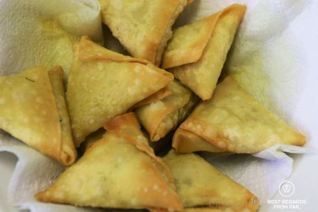 Steamy samosas, Bo-Kaap cooking tour, Cape Town, South Africa