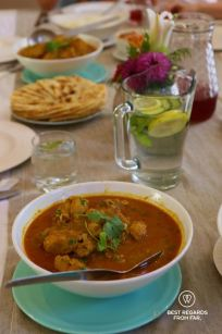 Cape Malay lunch during the Bo-Kaap cooking tour, Cape Town, South Africa