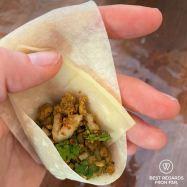 Preparing samosas, Bo-Kaap cooking tour, Cape Town, South Africa