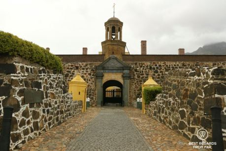 Front entrance, Castle of Good Hope, Cape Town, South Africa