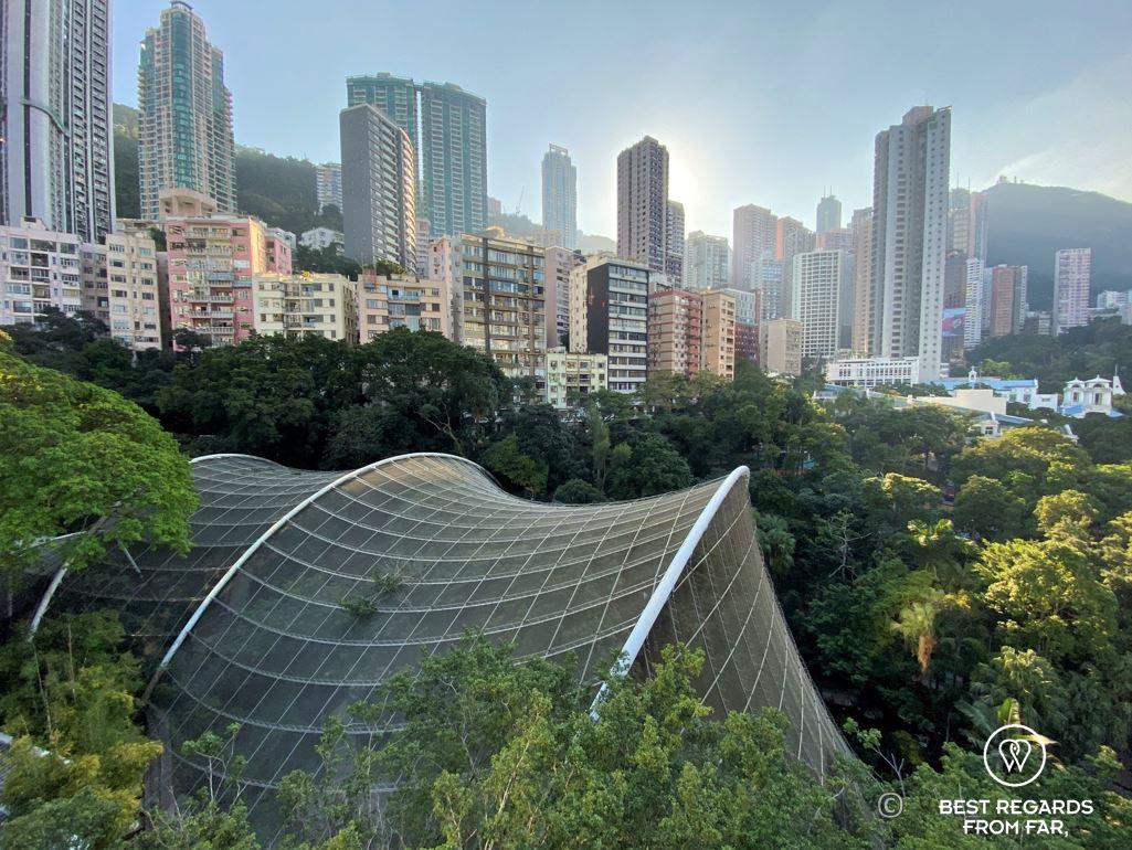 Hong Kong park aviary, Hong Kong Island