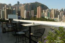 Popinjays rooftop bar, The Murray, Hong Kong