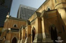The Murray Hotel and St. John's Cathedral, Hong Kong Island