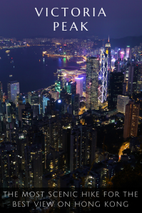 Victoria Peak - Pinterest - PIN - Hong Kong