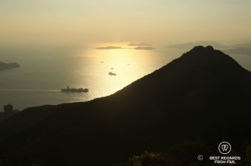 View from the Governor's walk, Victoria Peak, Hong Kong Island