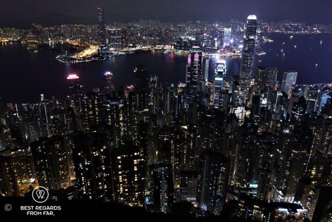 Hong Kong from Lugard Road, Victoria Peak, Hong Kong Island