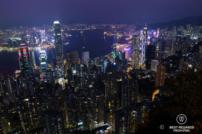 Hong Kong from Lugard Road, Victoria Peak, Hong Kong Island