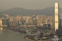 Kowloon from Victoria Peak, Hong Kong Island