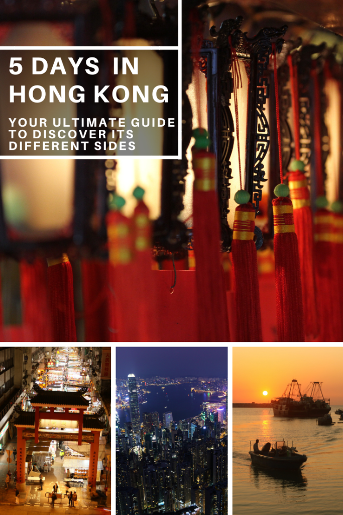 5-day itinerary Hong Kong the ultimate guide