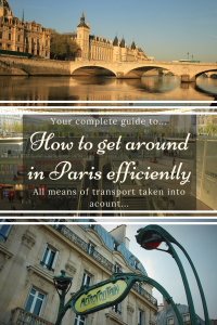 How to get around Paris - Pinterest Pin - Paris - France