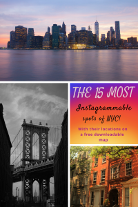 Instagrammable places NYC - Pinterest - PIN - USA