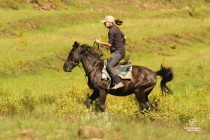 Eastern Lesotho village experience horseback riding