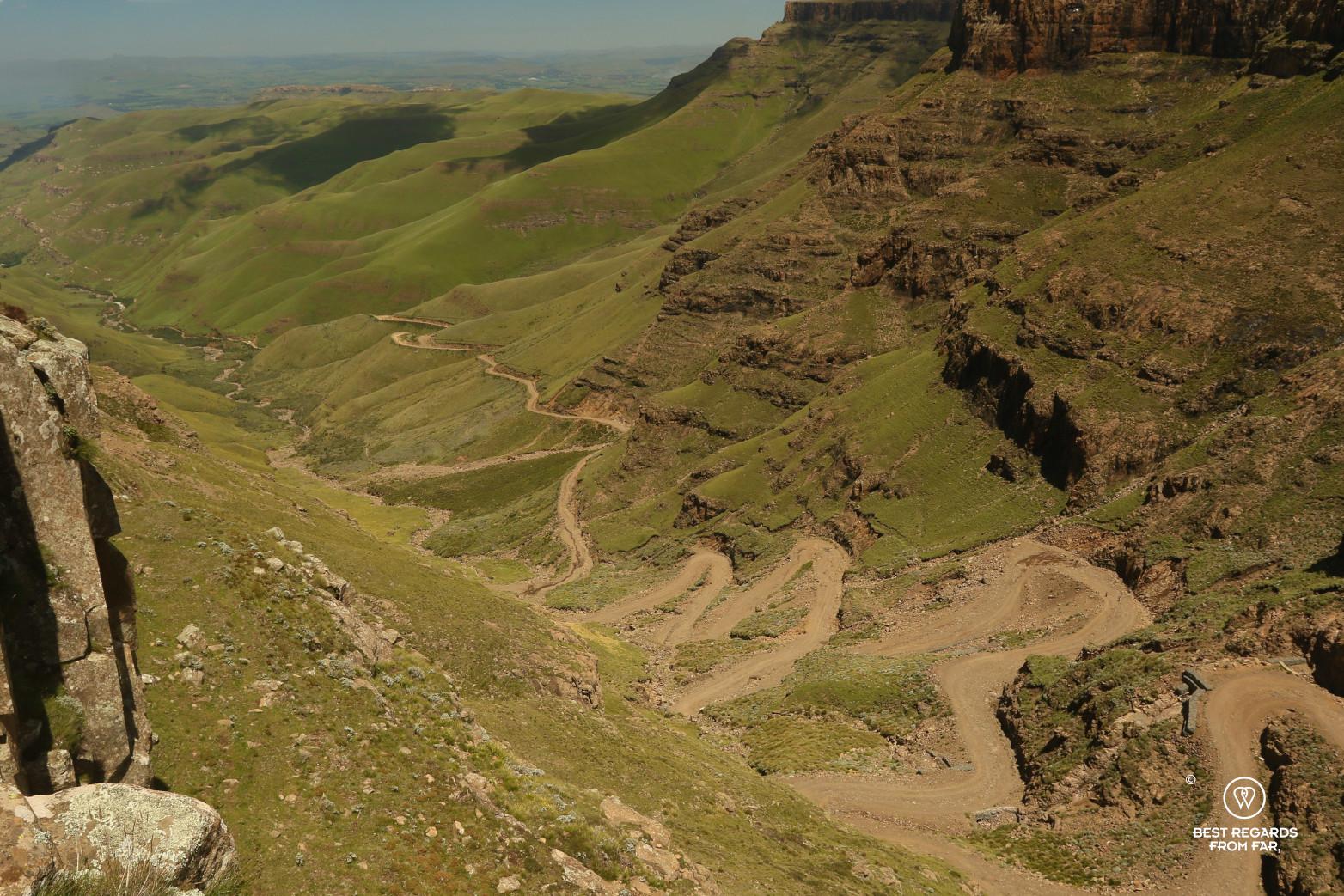 Sani Pass border crossing