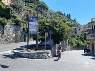 Biking to San Fruttuoso - Italian Riviera