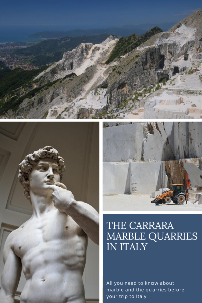 Carrara Marble - Pinterest PIN - Italy