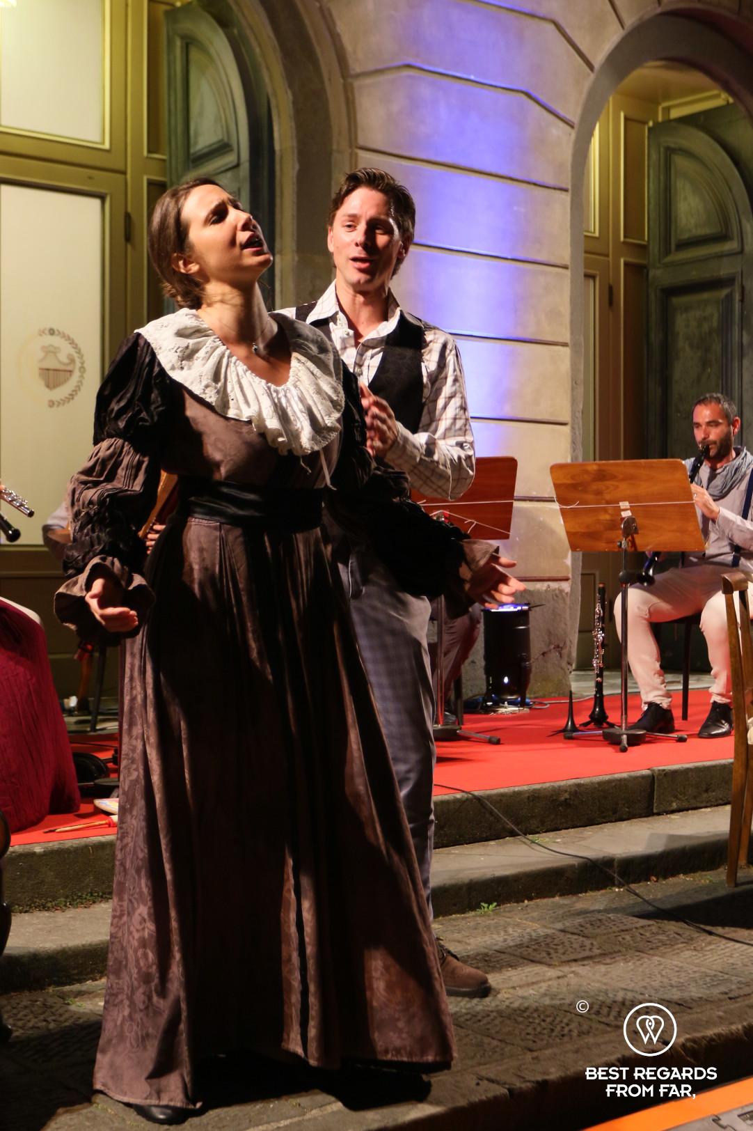 Giglio Theatre: La Boheme by Puccini, Lucca, Italy.