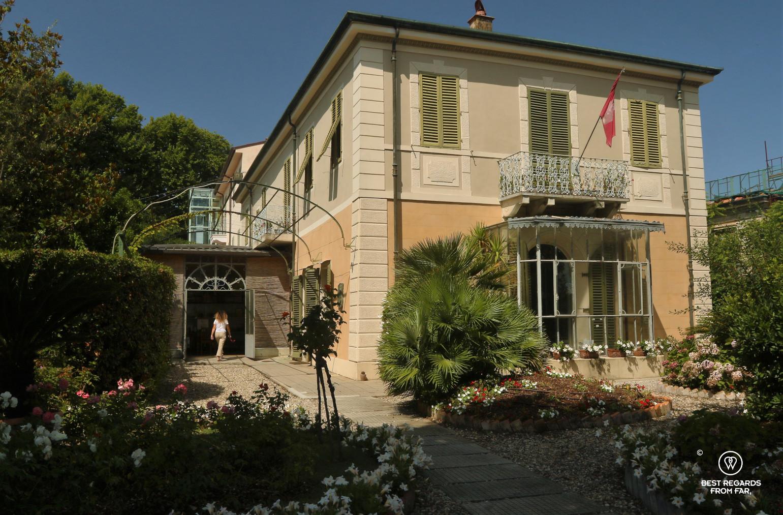 Puccini's villa in Torre del Lago, Italy.
