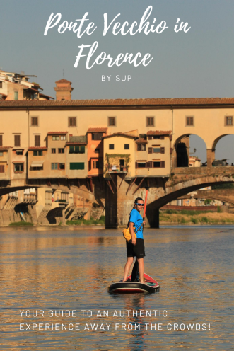 Pin this article about SUP in Florence for later!