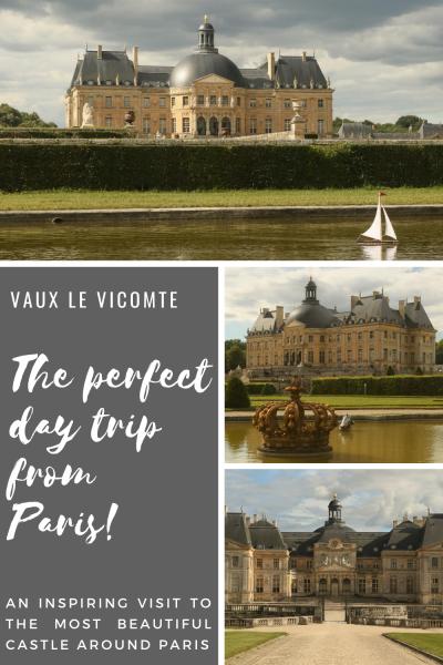 Vaux Le Vicomte - Pinterest PIN - France