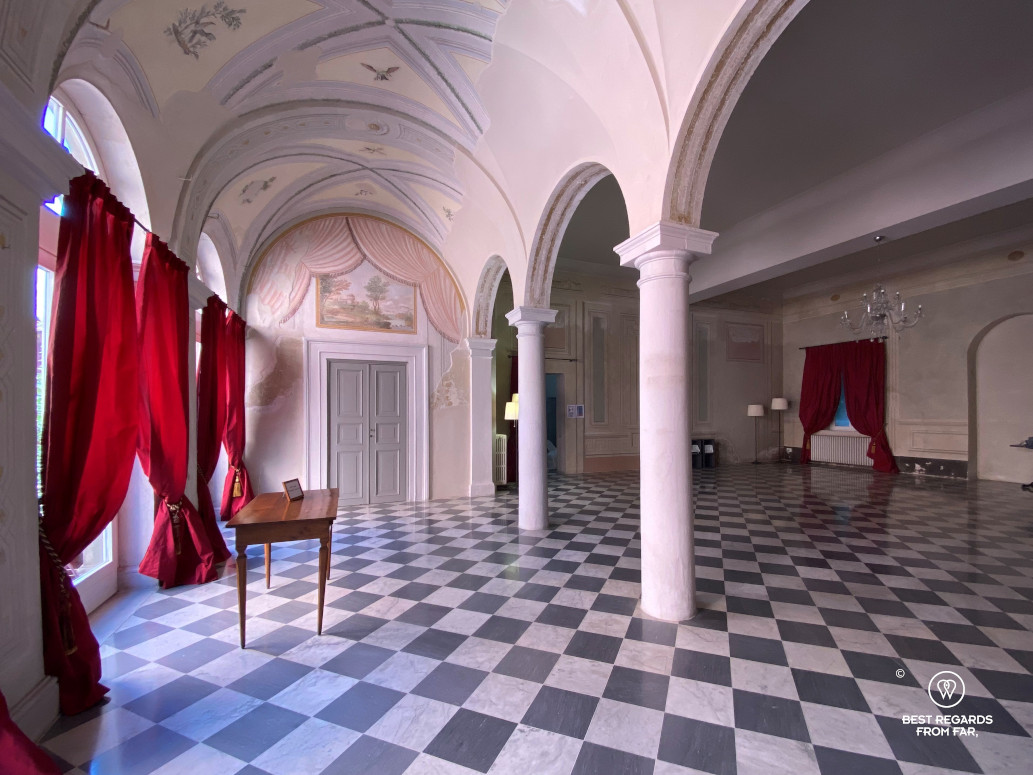 The first casino in Bagni di Lucca, Italy