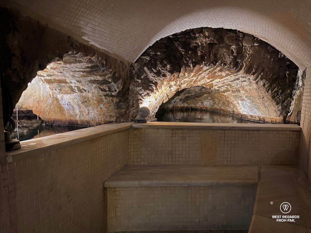 The spa built for Elisa Bonaparte in Bagni di Lucca, Italy