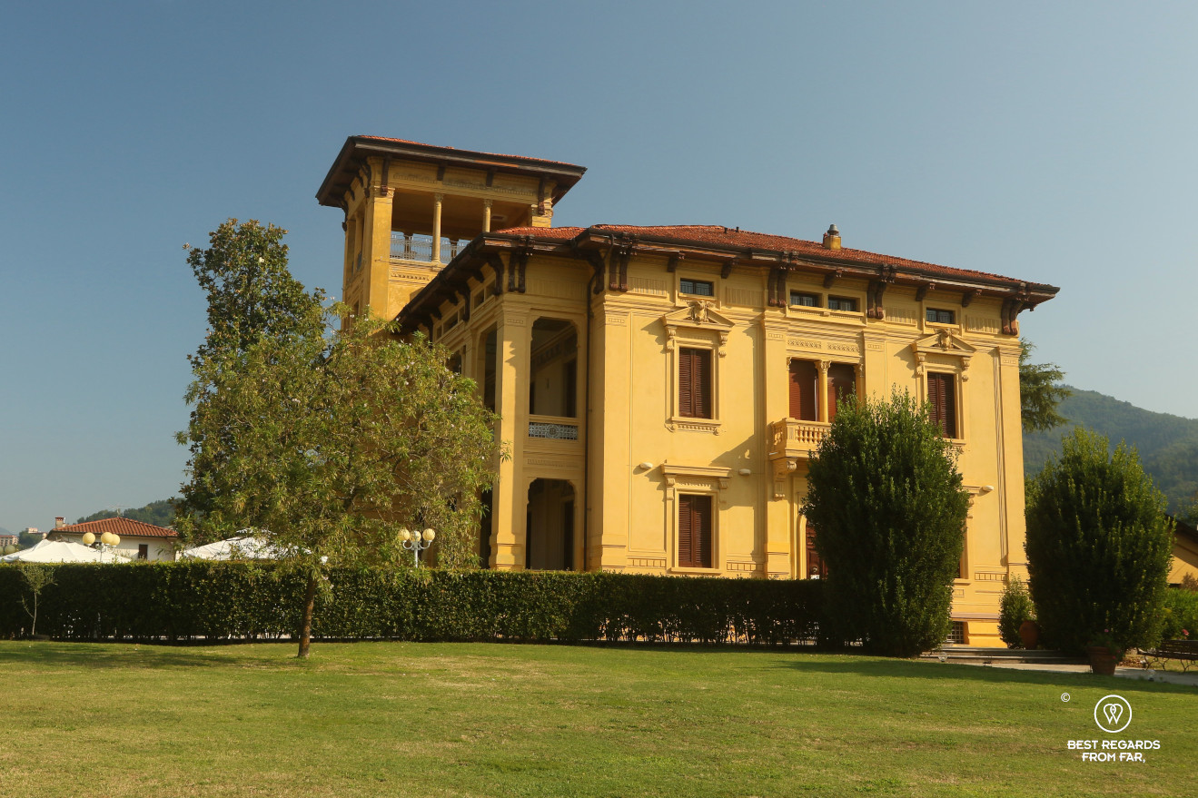 The Lyberty-style Villa Moorings in Barga, Italy.